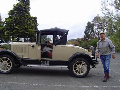 Morris Cowley roadster, 1927 van Dianne and Joanne
