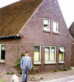 Ouderlijk huis Wim van Eck in Dreumel