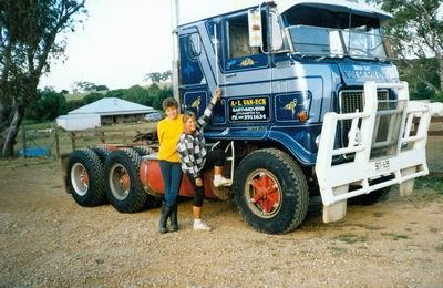 Truck Rob en Loes van Eck Earthmovers
